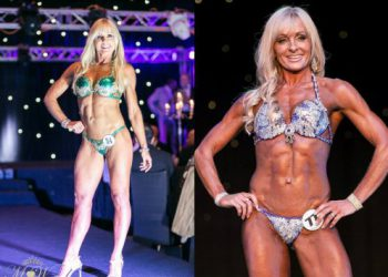Карен Кобб, 52-летняя участница конкурсов бикини (9 фото)