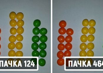 Математик решил отыскать две одинаковых пачки Skittles. Ему понадобилось 82 дня и 27 тысяч конфет (8фото)