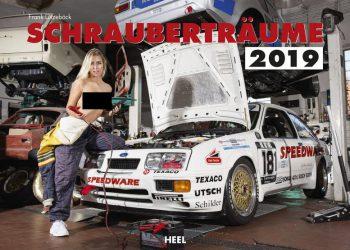 Календарь с сексуальными девушками и классическими автомобилями (16 фото)