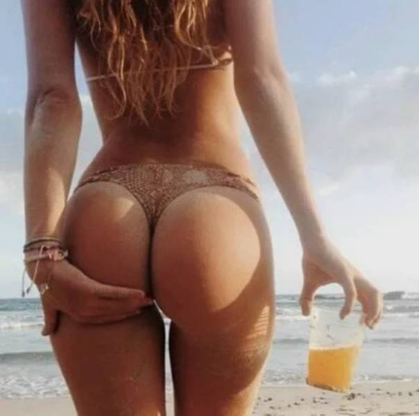 с пивасиком на пляже