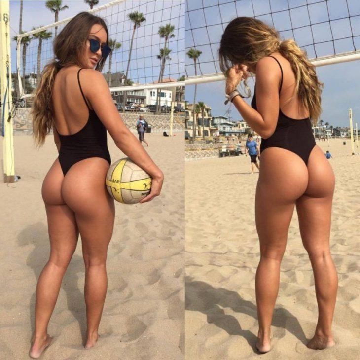 волейбол на пляже - удивительное зрелище!