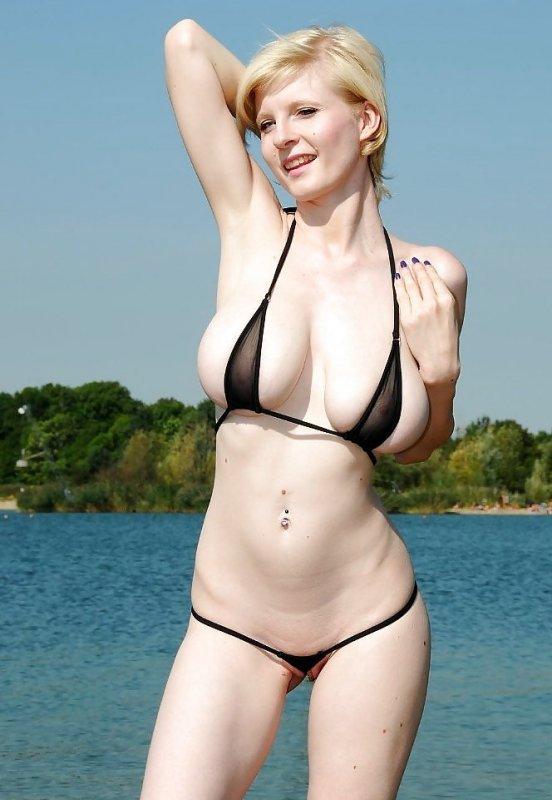блондинка-альбинос: совсем нет никакого загара