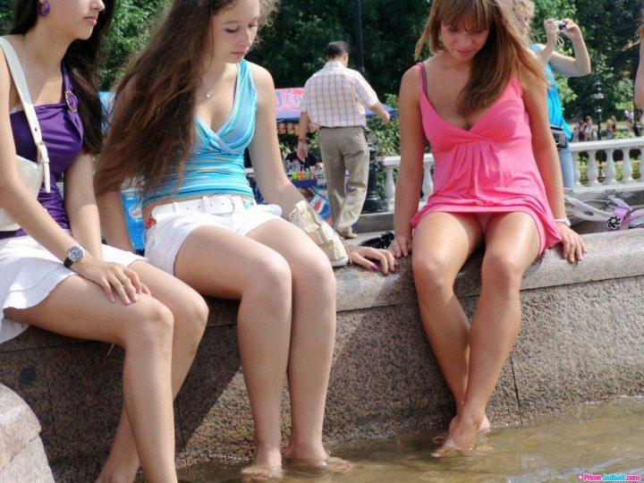 прекрасное фото девушек летом