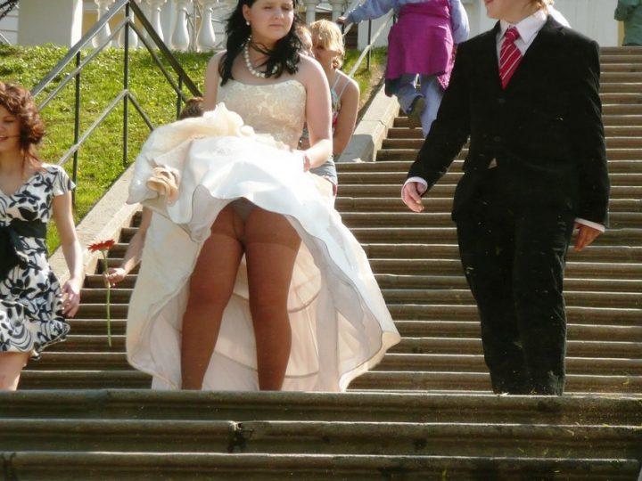очередной засвет невесты в свадебном платье