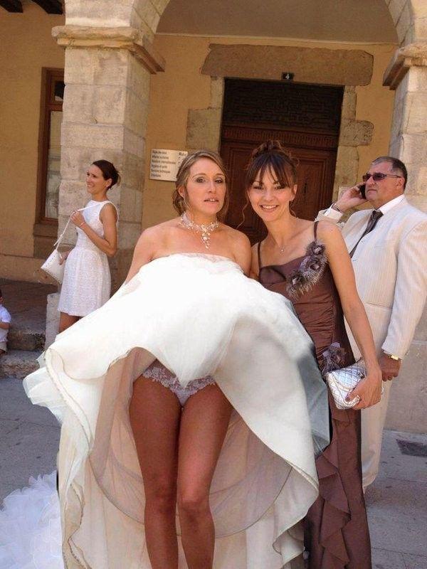 опять невеста отличилась