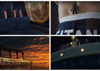 Если бы легендарный фильм «Титаник» снимали с минимальным бюджетом (1фото+2видео)