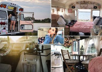 Юная американка предпочла университету жизнь на колесах (13фото)