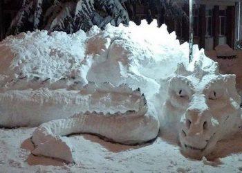 Зима близко – значит, наступит время снеговиков (9 фото)