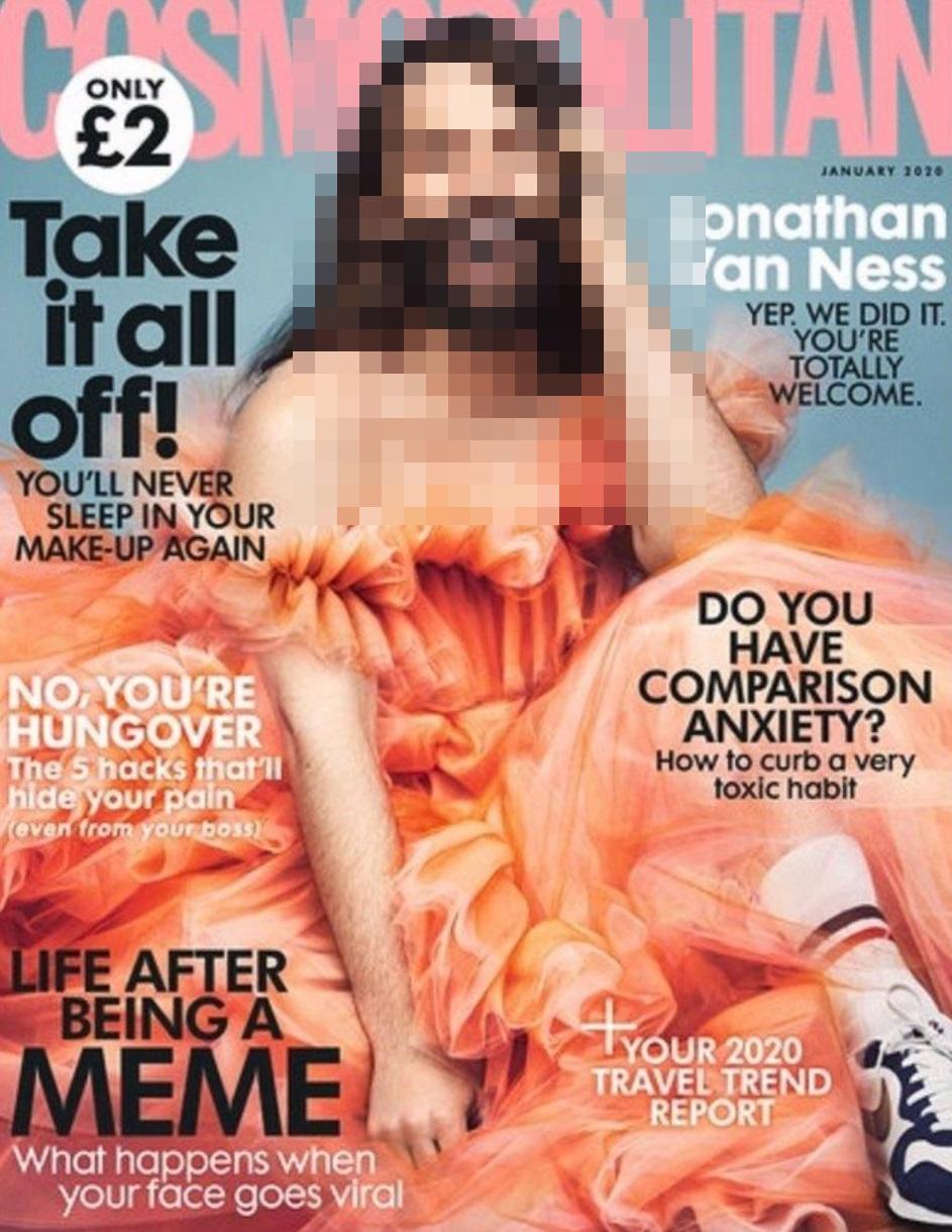 На обложке Cosmopolitan впервые за 35 лет появился мужчина