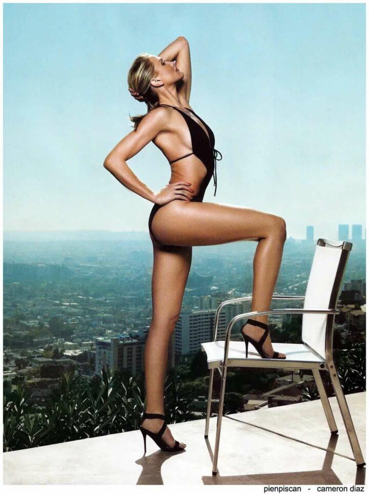 Кэмерон Диаз сногсшибательная актриса Голливуда с шикарной попой и прекрасной грудью