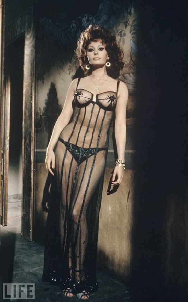 Софи Лорен эталон женственности и сексуальности