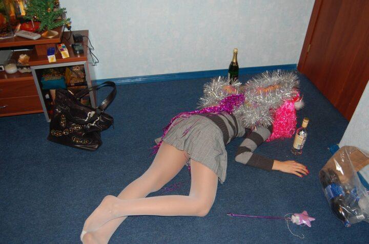 Пьяная фея долеталась